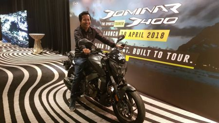 Dominar D400 Launch 2018