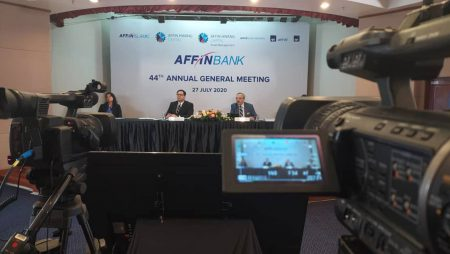 44th AGM Affin Bank Berhad 2020