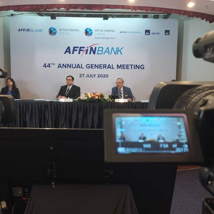 44th AGM Affin Bank Berhad 2020